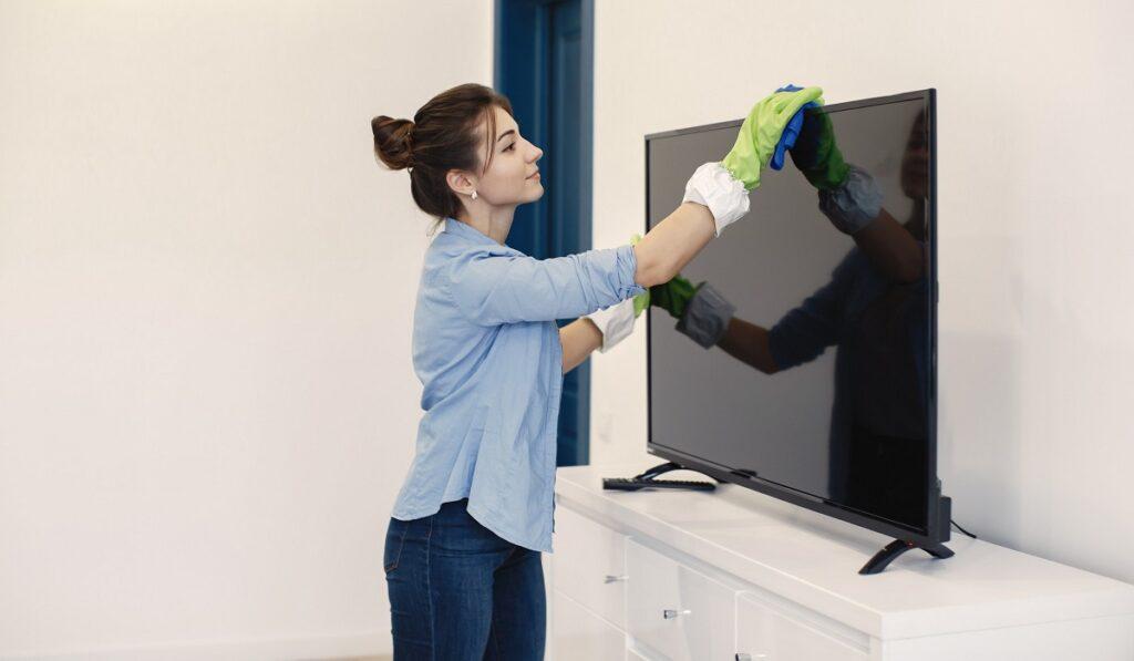 televizyon ekrani temizleme teknosa