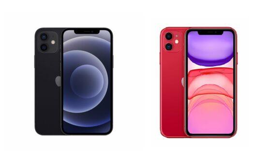 iPhone 11 vs 12 teknosa